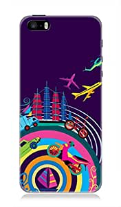 7C High Quality Back Case Cover For Apple Iphone 5 Or 5S