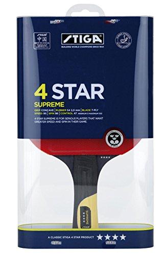 Stiga -Supreme 4 stars - Ping-pong racchetta