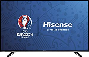 Hisense 40 inch Widescreen 4K Smart LED TV with Freeview HD - Black