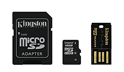 Kingston-16GB-MicroSDHC-Class-4-Memory-Card-(With-Adapter-&-USB-Reader)