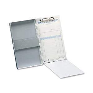 Saunders 10507 Recycled Aluminum Snapak Form Holder - Memo Size - 5.75 x 9.5 inches