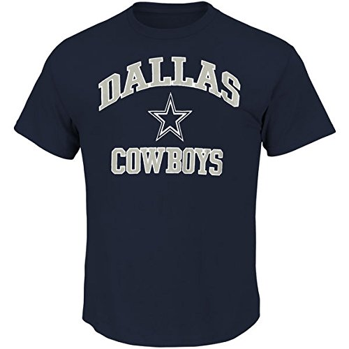 Men's Dallas Cowboys Navy Heart & Soul III T-Shirt (XL)