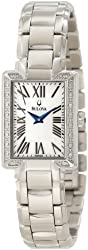 Bulova Women's 96R160 Classic Rectangle Bracelet Watch