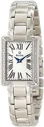 Bulova Women's 96R160 Classic Rectangle Bracelet Watch