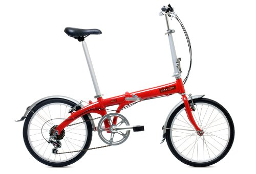 Dahon Eco C6 Folding Bike - Brick Red