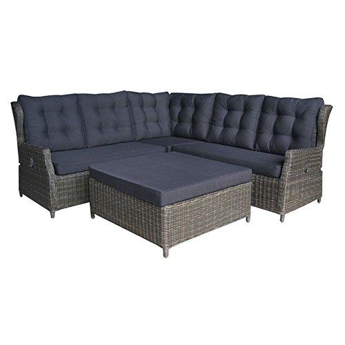 Gartenlounge OUTLIV. Mauritius Loungegruppe Geflecht brown / natural 712801-806028 online kaufen