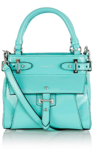 Patent Leather Mini Tote