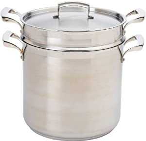 Browne Foodservice 57 24080 18 10 Stainless Steel Thermalloy Double Boiler with Insert and... by Browne Foodservice