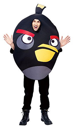 Angry Birds Black Bird Adult Costume Unisex Halloween Funny Party Video Game App