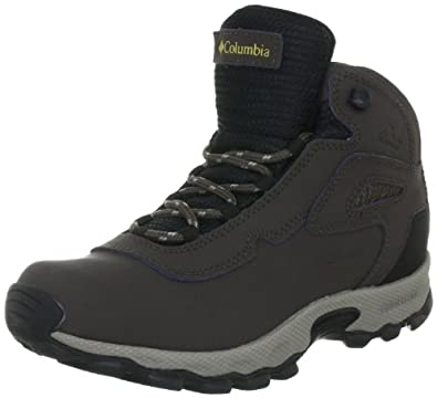 Columbia Newton Waterproof Hiking Boot,Cordovan/Sauterne,1 M US Little Kid