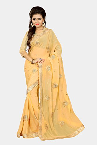 Chirag Sarees Designer Partywear Bridal Marriage Collection 395-CHIKOO