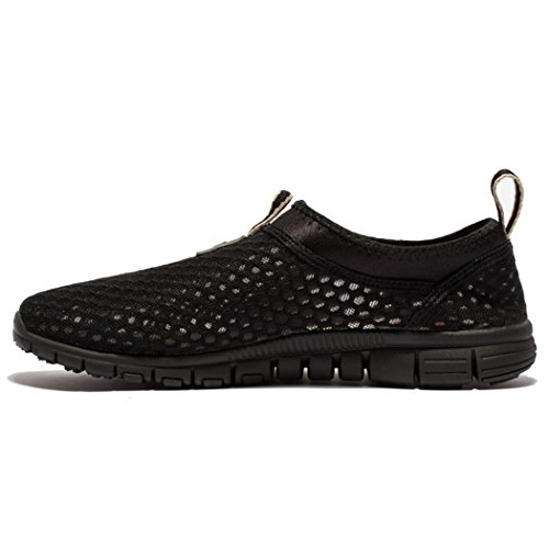 Men & Women Breathable Running Shoes,beach Aqua,outdoor,water,rainy,exercise,climbing,dancing,drive EU43 Black/black