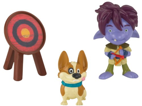 Fisher-Price Mike The Knight figures: Trollee and Yip