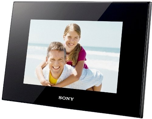 Sony DPFD85B 8 Inch LCD Digital Photo Frame with  Multi-Card Slot and USB Port