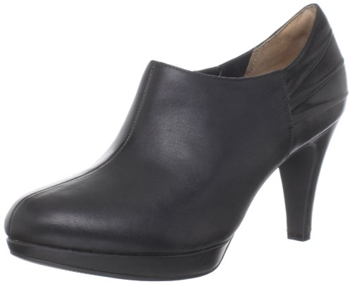 indigo by Clarks Women's Wessex Azure Ankle Boot,Black Leather,10 M US