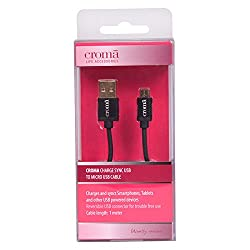 Croma Charge Sync USB to Micro USB Cable