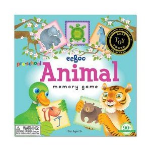 PreSchool Animal Memory Game Picture