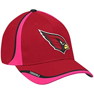 Arizona Cardinals Breast Cancer Awareness Coaches Sideline Flex Fit Hat Cap by Reebok