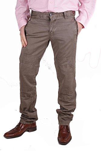 Pantaloni da uomo Jeans naparijri Kaki W31/L34 #RIF170
