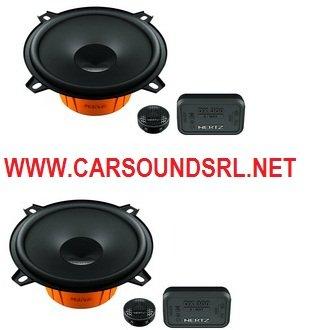 """Hertz Dsk 130 5 1/4"""" 2-Way Component Car Speaker System Dsk130"""