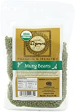 Chimes Organic Mung Beans 16-Ounce Pouches Pack of 6