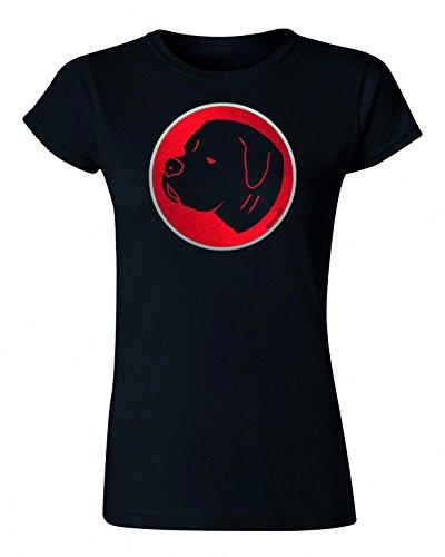 Buzz Shirts -  T-shirt - Maniche corte  - Donna (American Bulldog) Black XX-Large