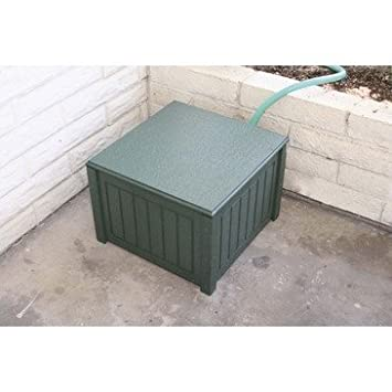 Hose Plastic Storage Box Finish: Brown