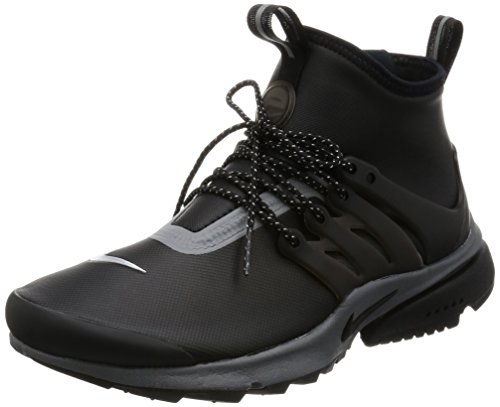 Nike Womens Air Presto Mid-Utility Shoes Black/Dark Grey 859527-002 Size 7 (Nike Sneakers Women Presto compare prices)