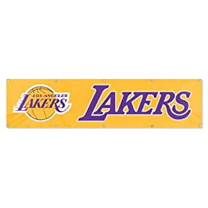 NBA Los Angeles Lakers 8 Foot Banner by Party Animal