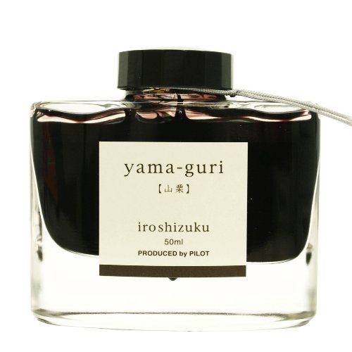 Pilot ink bottle iroshizuku <color drop> Yamaguri 50ml (japan import)
