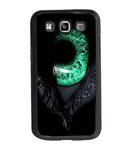 Fuson Green Eye Back Case Cover for SAMSUNG GALAXY E7 - D4080