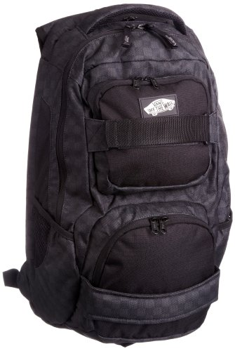 Vans Men's Shroud Skatepack Backpack Black Checks Vnvjade