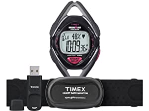 Timex Ironman Race Trainer Midsize Pack with USB Device (Grey/Black, Mid-Size)