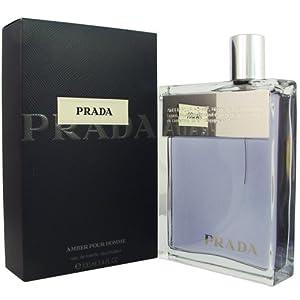Prada cologne by Prada EDT spray 3.4 oz (Amber) for men.