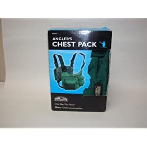 Fieldline Fishing Gear Vest - Angler's Chest Pack