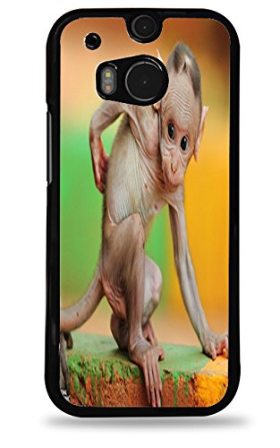 Baby Monkey Htc One (M8) Black Hardshell Case front-470463