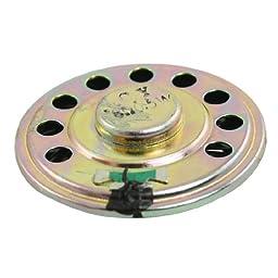 8 Ohm 0.5W Round Slim Internal Magnet Speaker Horn 2\