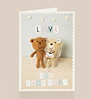 Anthony Bear Wedding Card