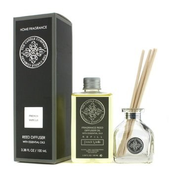 The Candle Company Reed Diffuser With Essential Oils - French Vanilla- 100ml/3.38oz