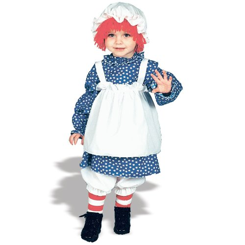 Raggedy Ann Toddler Costume - Kid's Costumes