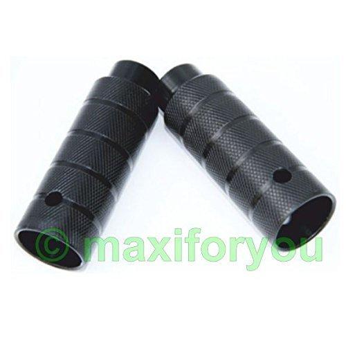 2 x BMX Pegs für M8 Gewinde/10 mm Achsen Schwarz 38 x 110 mm – 01120102