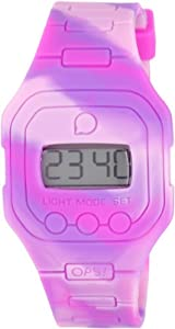 OPS Women's OPSFW-23 Flat Digital Watch