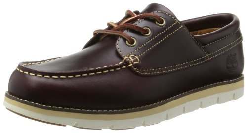 Timberland Men's Harborside 3Eye Leather Oxford,Burgundy,11.5 M US (Customized Timberland Boots compare prices)