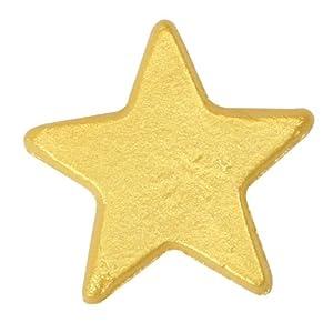 18 Edible Gold Metalic Stars - Cake & Cupcake Decorations