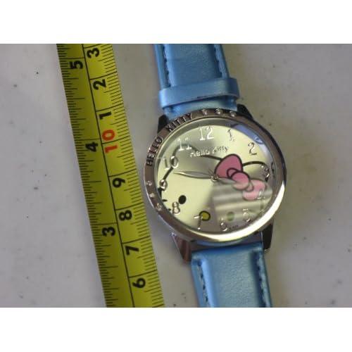 Hello Kitty Quartz Watch Blue Color