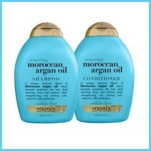 Organix Moroccan Argan Oil Shampoo and Conditioner Set -- 13 Fl Oz