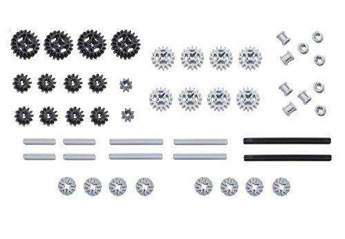 LEGO 50pc Technic gear & axle SET (Lego Mindstorms Robotics compare prices)