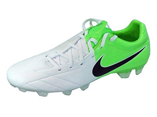 Nike T90 LASER IV KL-FG 472555 Weiss 171 Fußballschuhe, Größe:46;Farbe:weiß