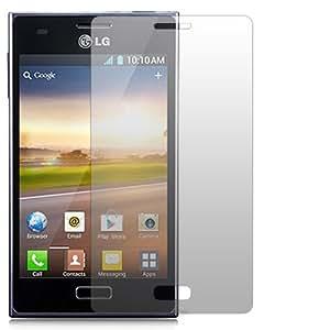 "2 x Slabo Displayschutzfolie LG E610 Optimus L5 Displayschutz Schutzfolie Folie ""Crystal Clear"" unsichtbar MADE IN GERMANY"