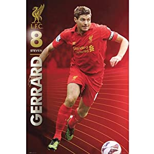 Liverpool Fc Steven Gerrard Poster from Liverpool F.C.